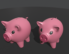 3D print model Money box pig