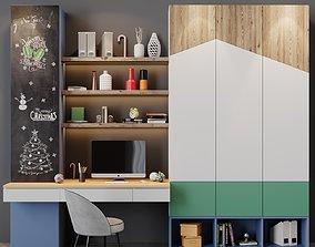 Workplace 18 office 3D model