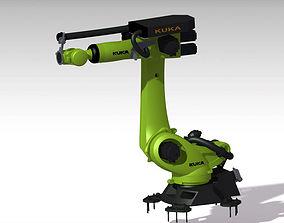 3D model arm Robot KUKA KR120 2900