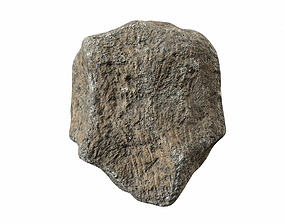 3D model Brown rock 6 PBR