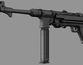 Gun MP40 3D