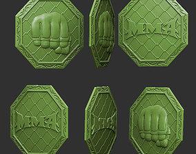 3D printable model pendant MMA