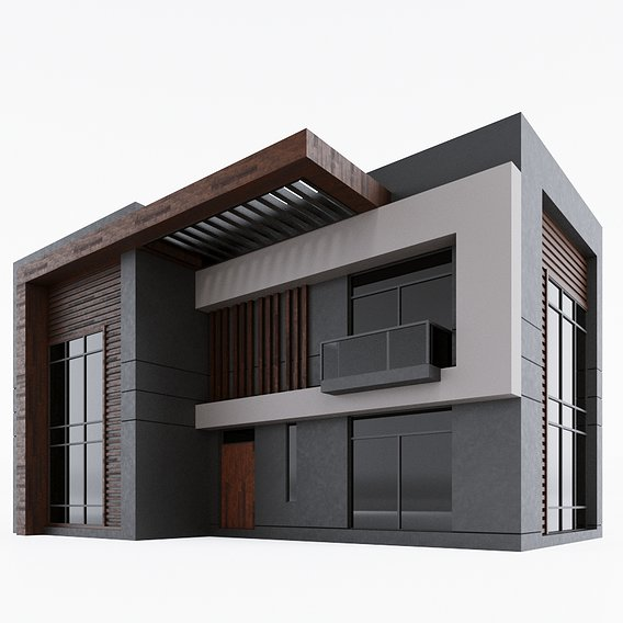Modern home in a hi-tech way 2