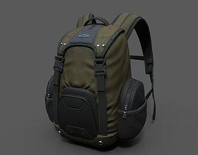 Backpack Camping scifi Generic ver2 3D asset