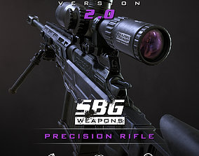 SBG Precision Rifle 3D asset