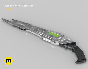 star-trek Klingon rifle 3D print model
