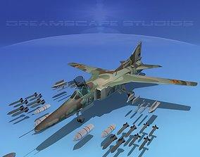 3D Mig-27 Flogger V11 Kazakhstan