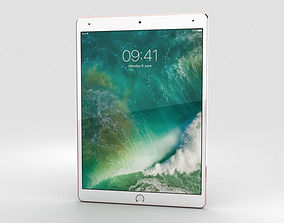 Apple iPad Pro 10-5-inch 2017 Rose Gold 3D