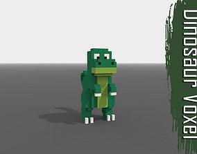 Voxel Dinosaur 3D model