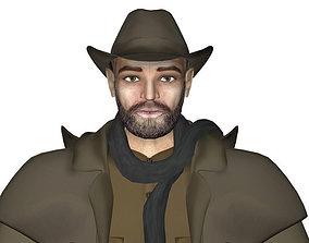 3D asset Sheriff Fraser