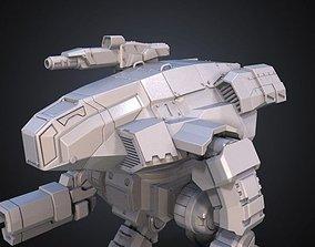 FanArt Battletech Marauder 3D Model Assembly Kit