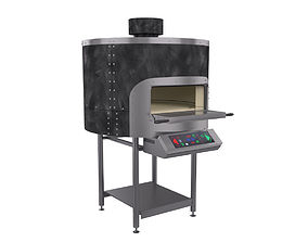 pizza oven morello forni evento frv100 3D model