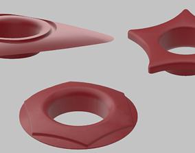 3D model various-models Set of 3 Shoe eyelets