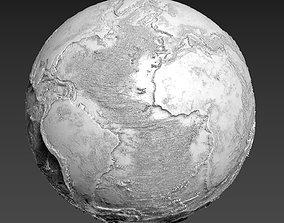 3D printable model EARTH MOON MARS TERRE LUNE