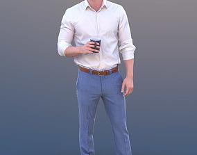 Rick 10499 - Standing Business Man 3D model