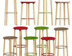 Offecct MOVE ON Stool 3D model