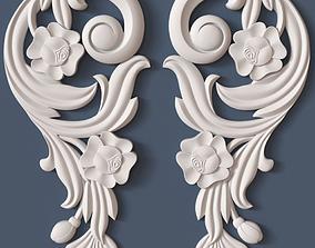 wall 3D Decorative Scroll