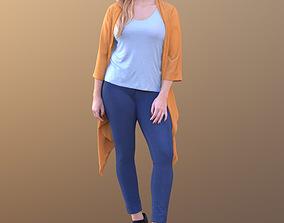 Rocio 10302 - Standing Casual Woman 3D asset