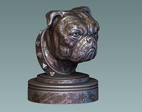 3D print model English Bulldog Head