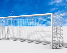 Soccer-Football Goal 3d Model