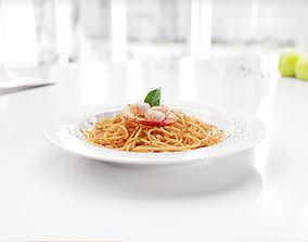 Spaghetti 3D model high