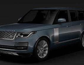 3D model Range Rover Autobiography L405 2018