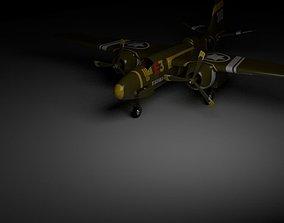 3D model flight boy