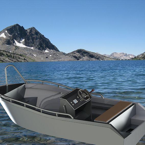 Aluminium boat 4 meters