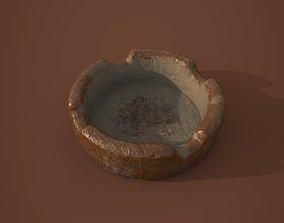 3D asset Old ashtray