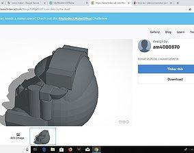mercenary SV-74 Helmet 3D print model