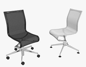 3D model Chair Rollingframe By Alberto Meda