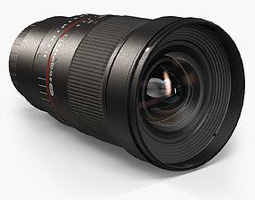 Samyang 24mm f 1-4 ED AS IF UMC Lens for Sony E 3D asset 1