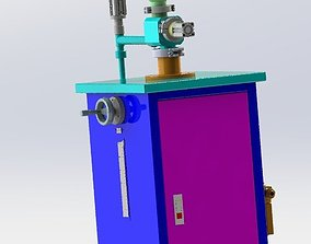 3D model Vertical filling machine