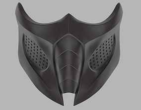 3D printable model Smoke mask from Mortal Kombat 9 and X