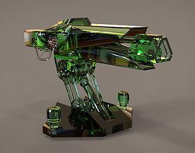 Turret Gun 3D model