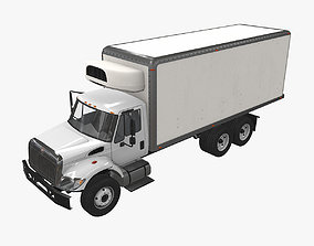 Fridge Truck International 7400 3D asset
