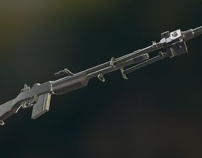 3D model RIFLE M1918 BAR
