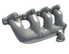 Exhaust Manifolds 66 3D model
