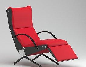 Borsani p40 lounge chair PRO 3D