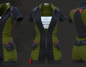 Sci-Fi Fantasy Wear 04 Female - 69 Marvelous Designer and