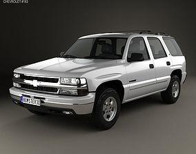 3D model Chevrolet Tahoe LS 2002