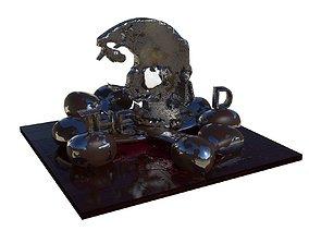 THE END 3D print model
