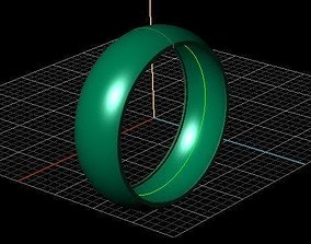 wedding ring prototyping 3D print model