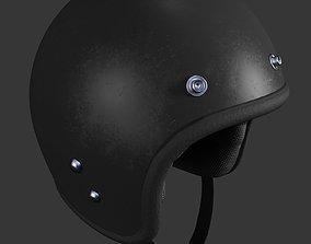 safety Biker helmet 3D model