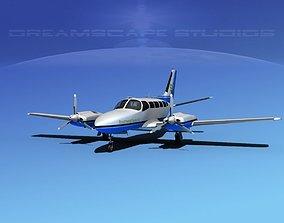 3D Cessna 404 Titan Southwest Tours