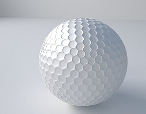Golfball 3D model