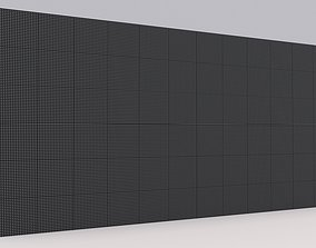 3D model Led Video Wall - Stage Screen Panel