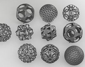 sphere custom pattern collection 3D