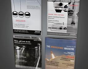 Magazines 01 - CLA - PBR Game Ready 3D asset