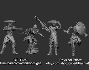 3D printable model Bowcaster Bounty Hunter Legion Scale
